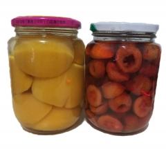 平谷  桃/红果罐头组合4瓶装
