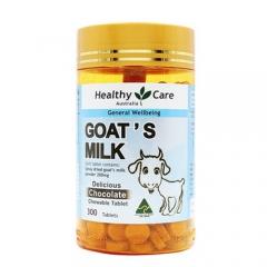Healthy Care 羊奶咀嚼片 口味随机300粒