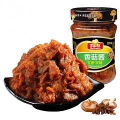 百山祖 五香京味香菇酱210g