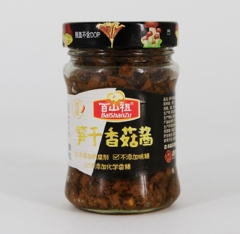 百山祖 笋干香菇酱  210g